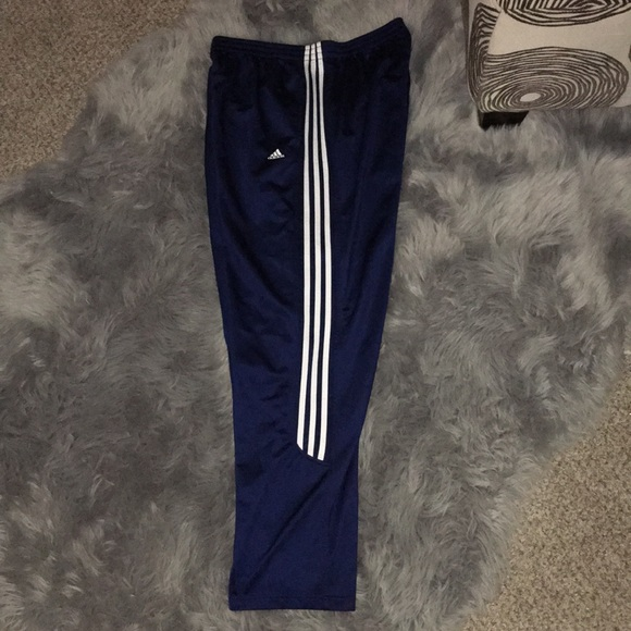 Adidas pantalones azul sudor poshmark